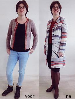 """4778209539efcb Haar verhaal  """"Na een inspirerende kleuren- en kledingworkshop bij Dress  for Success (via De Broekriem)"""